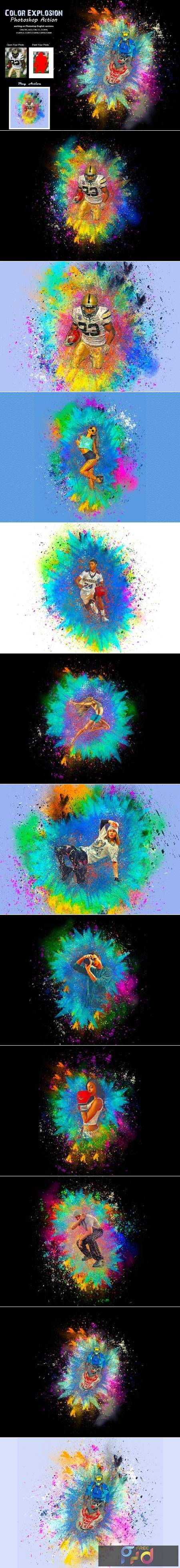 Color Explosion Photoshop Action 5414727 1