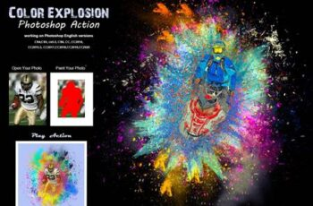 Color Explosion Photoshop Action 5414727 7