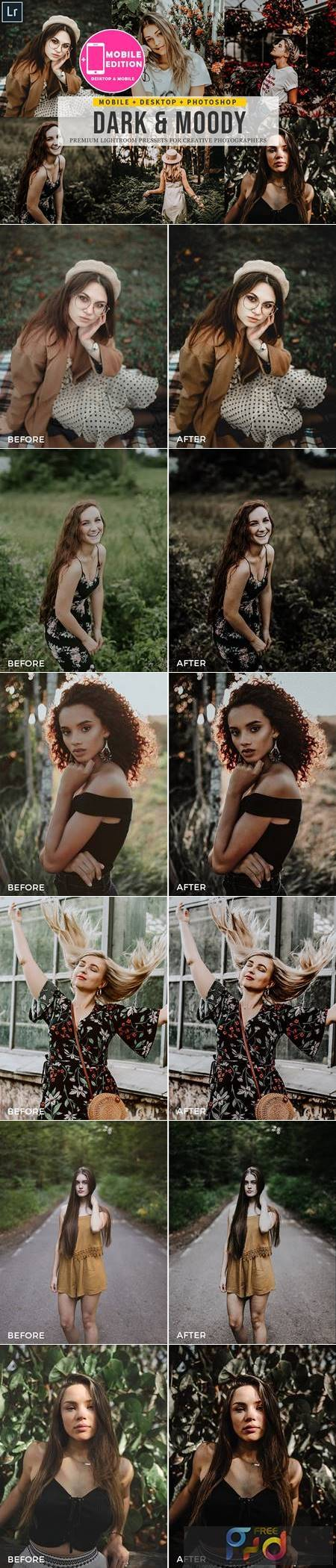Dark and Moody Lightroom Presets 4842930 1