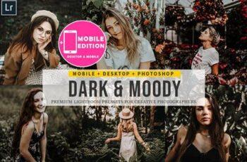 Dark and Moody Lightroom Presets 4842930 2