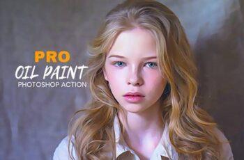 Pro Oil Paint Photoshop Action 4955896 6