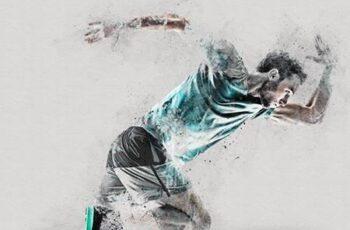 Scrape Art Photoshop Action 28218323 2