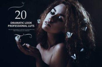 20 Dramatic Look LUTs (Look Up Tables) SJK27BA 4