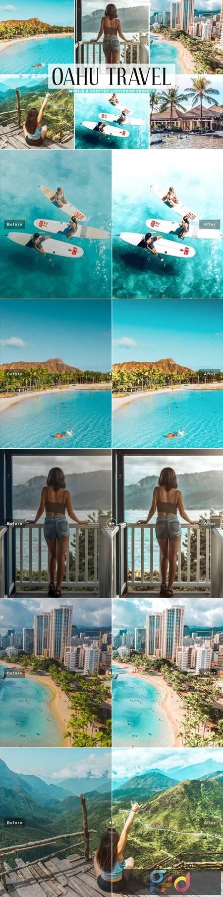 Oahu Travel Mobile & Desktop Lightroom Presets ZHYGPK4 1