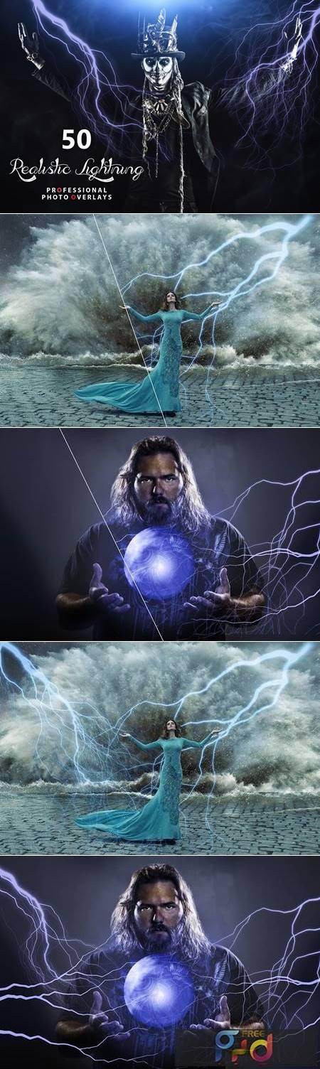50 Realistic Lightning Overlays ZTVFBN8 1