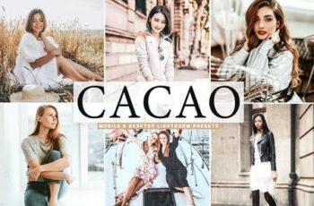 Cacao Mobile & Desktop Lightroom Presets HJ3ZB9U 6