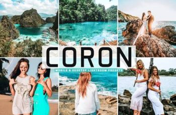 Coron Mobile & Desktop Lightroom Presets 8TKGVW8 4