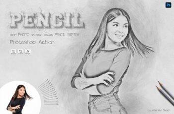 Pencil Sketch - Photoshop Action 28585827 6