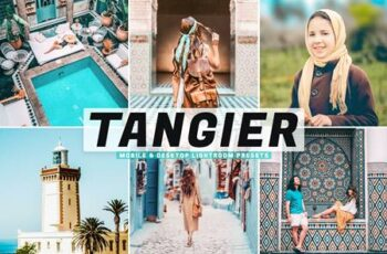 Tangier Mobile & Desktop Lightroom Presets 48XY342 3