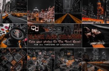 Urban Black AND Orange Presets ZJZ6AXK 7