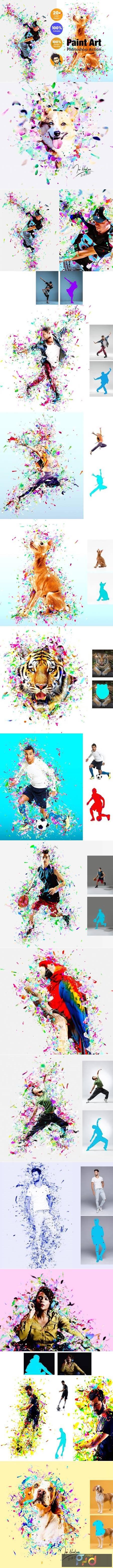 Paint Art Photoshop Action 5380821 1