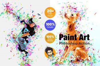 Paint Art Photoshop Action 5380821 5