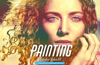 Painting Photoshop Action V8 5731779 5