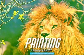 Painting Photoshop Action V10 5735094 2