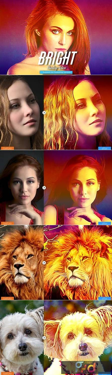 Bright Painting Photoshop Action 5444607 1