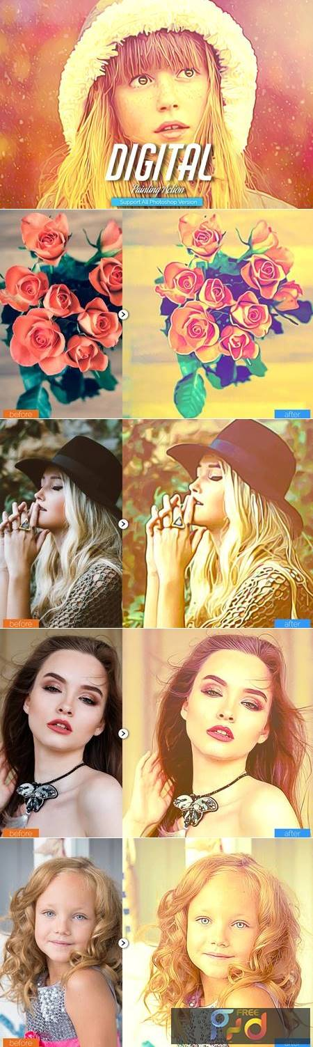 Digital Painting Photoshop Action 5444546 1