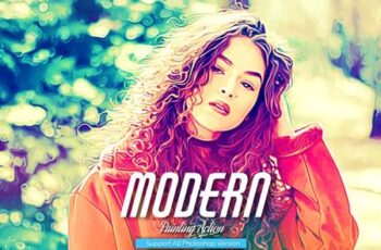 Modern Painting Photoshop Action 5444573 13