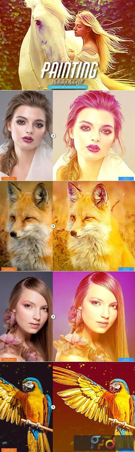 Painting Photoshop Action V11 5444534 1