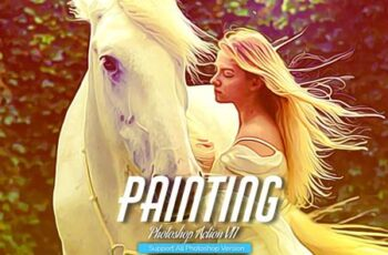 Painting Photoshop Action V11 5444534 11