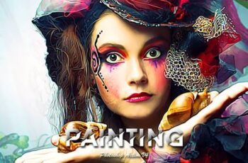 Painting Photoshop Action V4 5438359 10