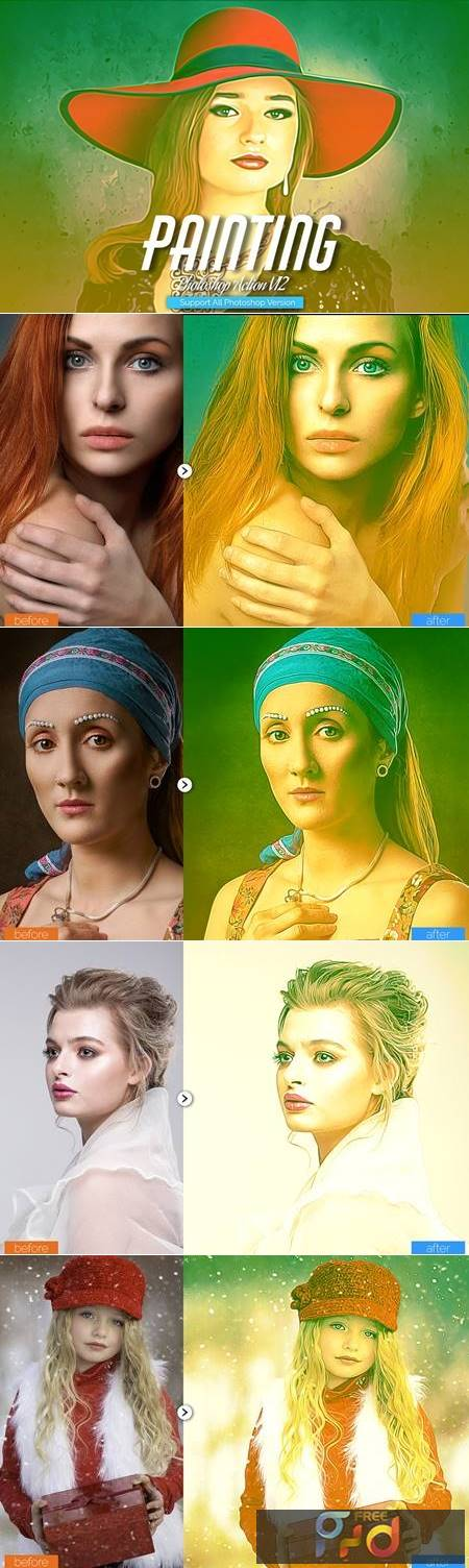 Painting Photoshop Action V12 5444544 1