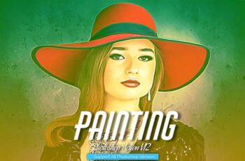Painting Photoshop Action V12 5444544 6