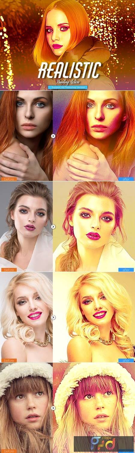 Realistic Painting Photoshop Action 5444568 1
