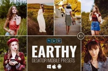 10 Earthy Desktop & Mobile Presets V1 28332406 3