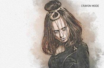 JUNO Uni-Sketch Photoshop Action 28291822 1