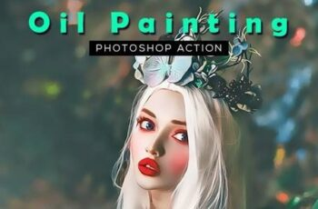 Oil Painting Photoshop Action 28335916 1