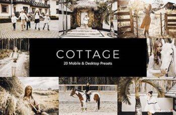 20 Cottage Lightroom Presets & LUTs 28661718 3