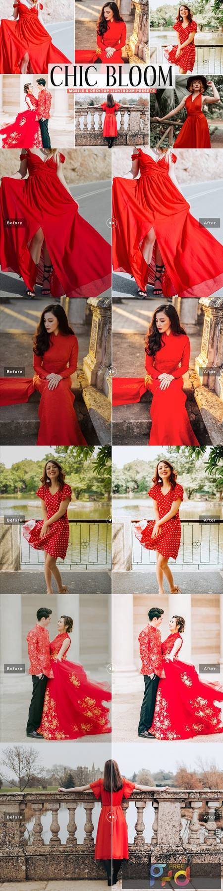 Chic Bloom Pro Lightroom Presets 5423702 1