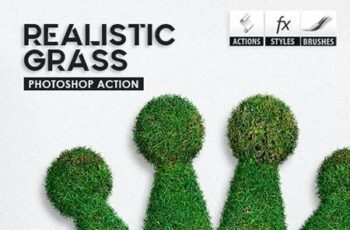 Realistic Grass - Photoshop Actions 28288665 7