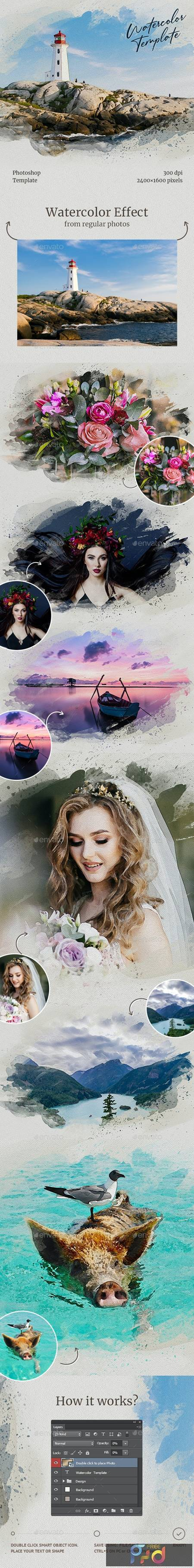 Watercolor from Photo Template 28663455 1