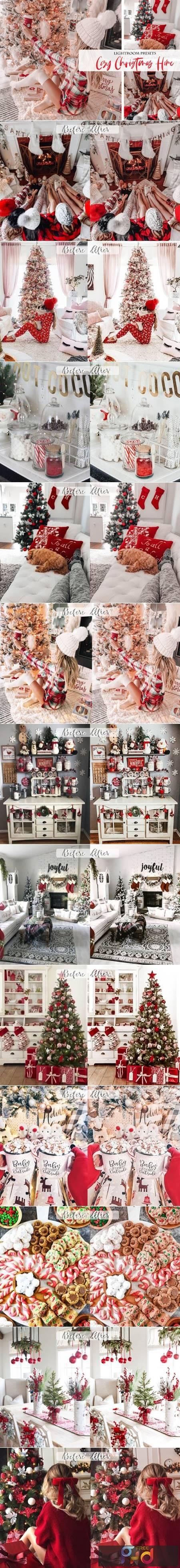 Cozy Christmas Home Lightroom Presets 5840983 1