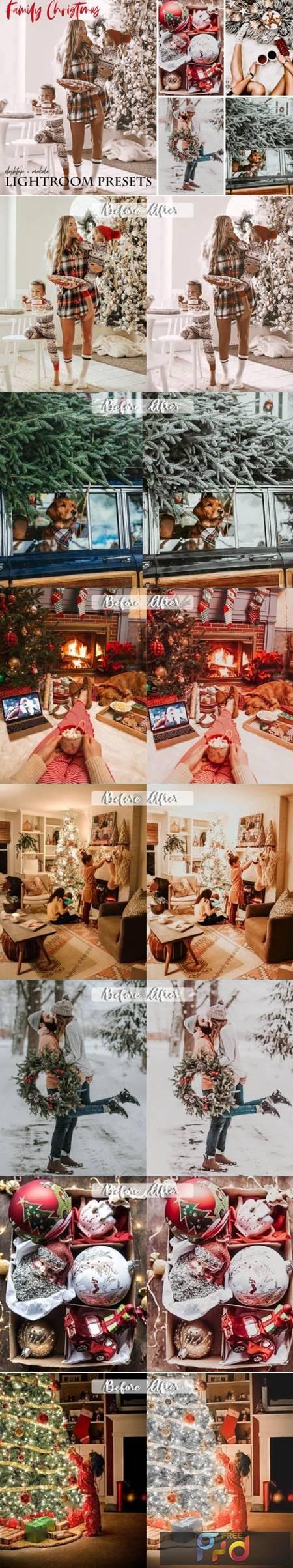 Family Christmas Lightroom Presets 5841097 1