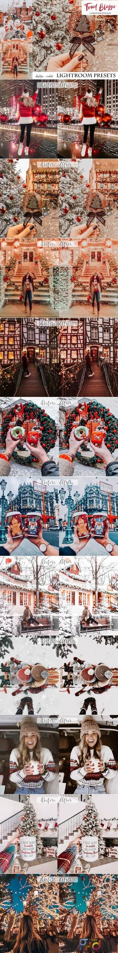 Travel Blogger Christmas Edition Lightroom Presets 5841222 1