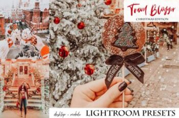 Travel Blogger Christmas Edition Lightroom Presets 5841222 5
