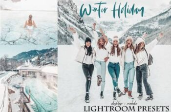 Winter holiday Lightroom Presets 5841266 7