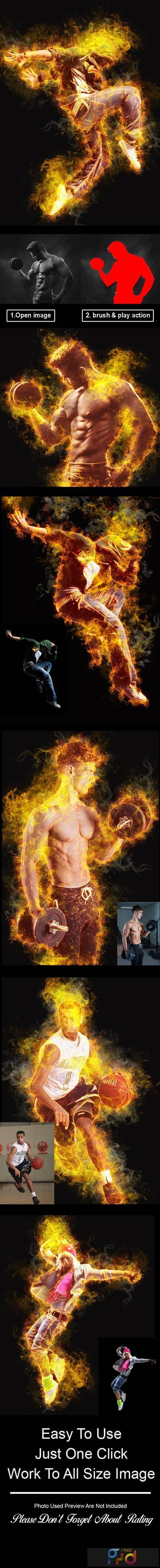 Amazing Flame Photoshop Action Vol 2 28223950 1
