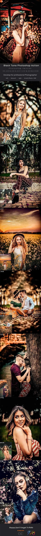 Black Tone Photoshop Action 28221770 1