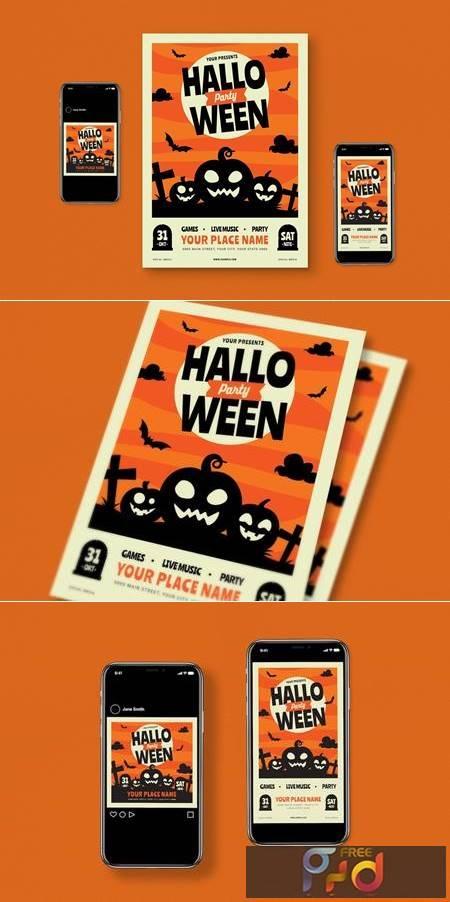 Halloween Flyer Set 59Z9Z5N 1