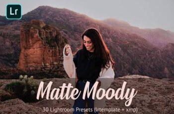Matte Moody Presets Lightroom 4811215 6