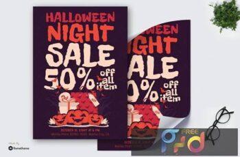 Halloween Night Sale - Poster GR 8FAZ66U 3