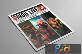 Indie Live Flyer 7ABYBFG 12