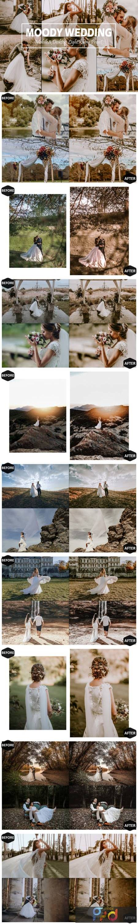 10 Moody Wedding Mobile & Desktop Lightroom Presets 5916494 1