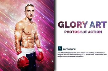 Glory Art Photoshop Action 4717879 2