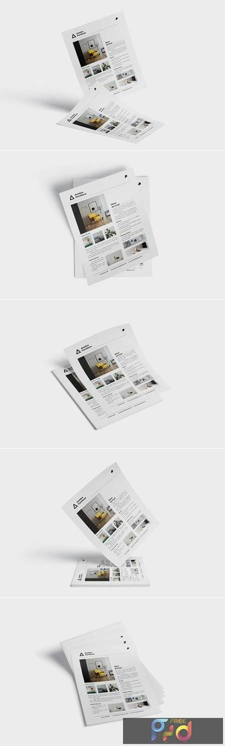 Minimalist Flayer Template Vol.1 FU9SJ75 1