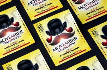Movember Celebration Flyer MRWKA8F 3