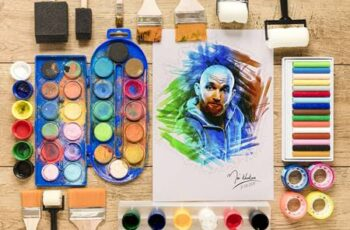 Marker Sketch Photoshop Action 28287245 9